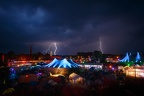 Chaos Communication Camp 2015 with Thunderstorm